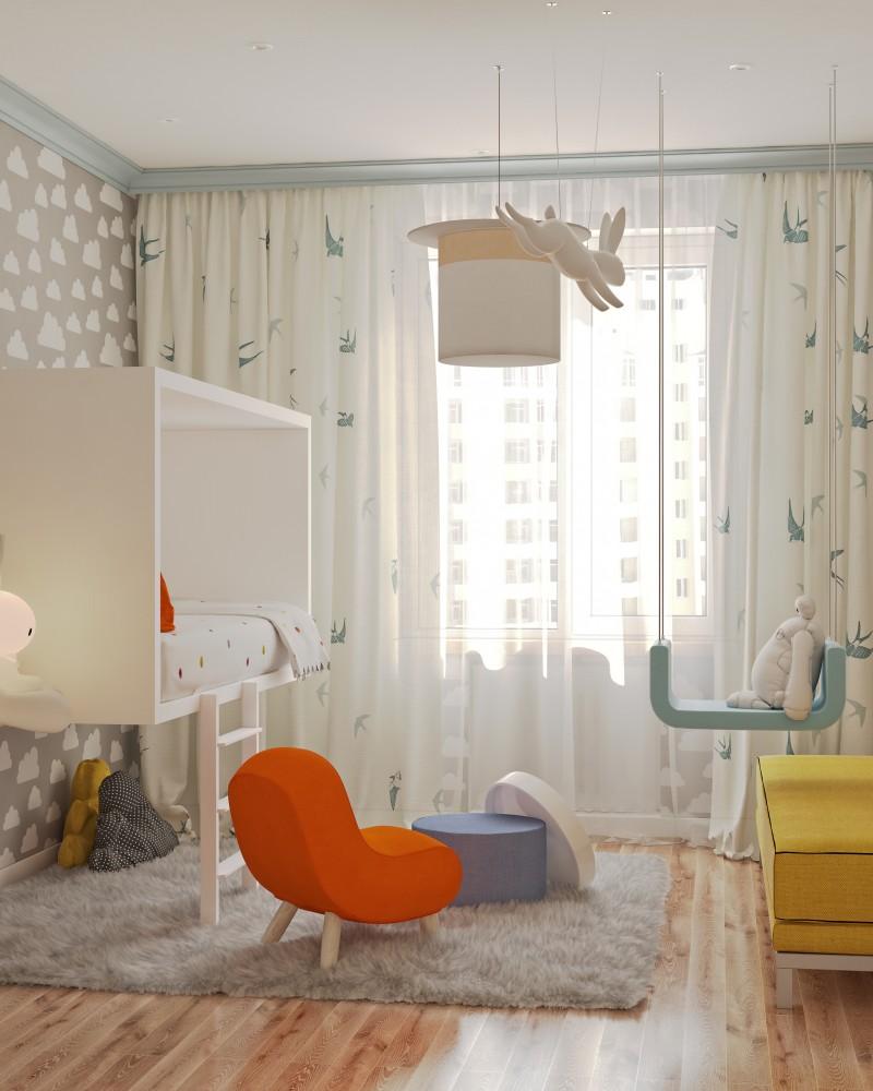 Фото - Дизайн Интерьера - Минимализм - детская комната