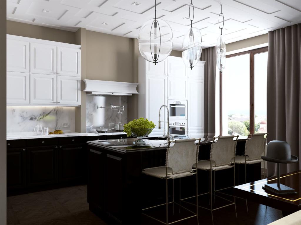 кухня, дизайн кухни, современный интерьер, caracole, leicht