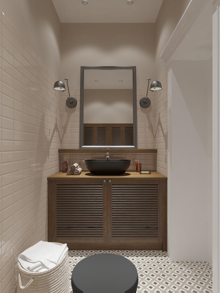 дизайн интерьера, дизайн ванной комнаты, дизайн интерьера Одесса, дизайн интерьера Киев, restoration hardware, equipe, black toilet, black washtab