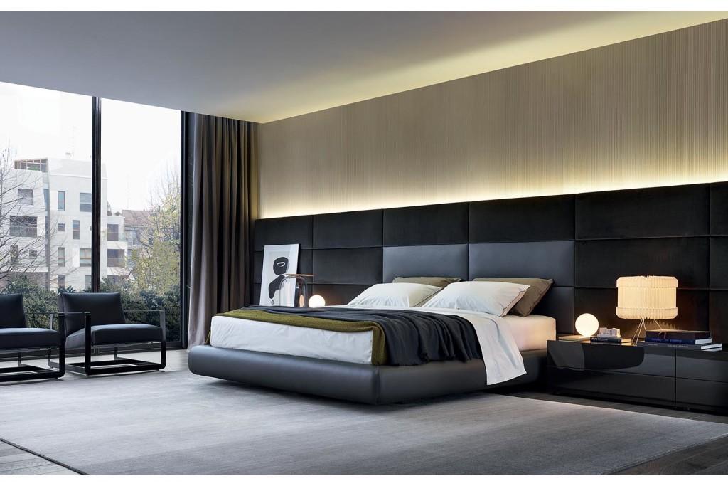 интерьер, минимализм, современный интерьер, спальня, poliform, bedroom