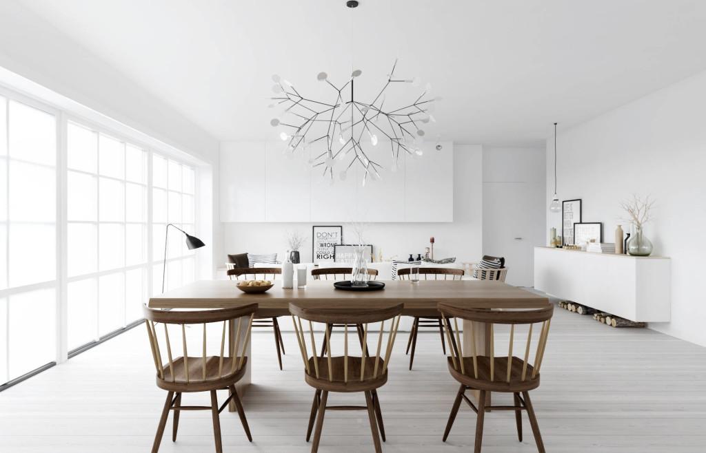 скандинавский дизайн, скандинавский стиль, гостиная стиль, столовая стиль
