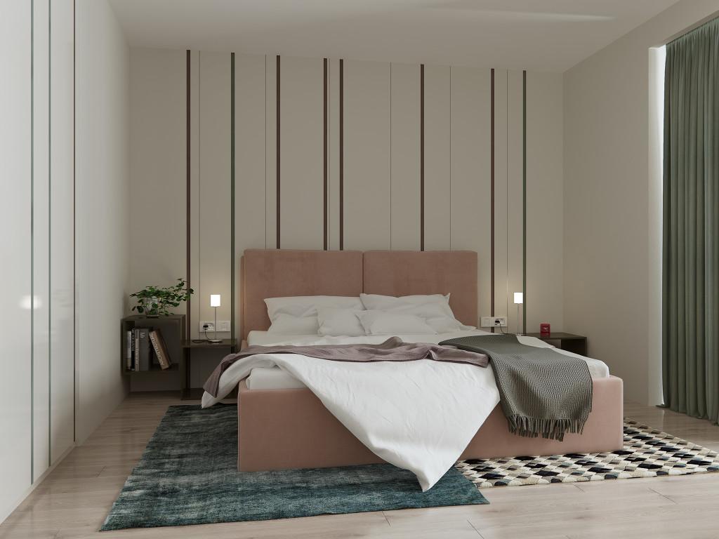 дизайн спальни, спальня в современном стиле, светлая спальня, жк радужный, дизайн одесса