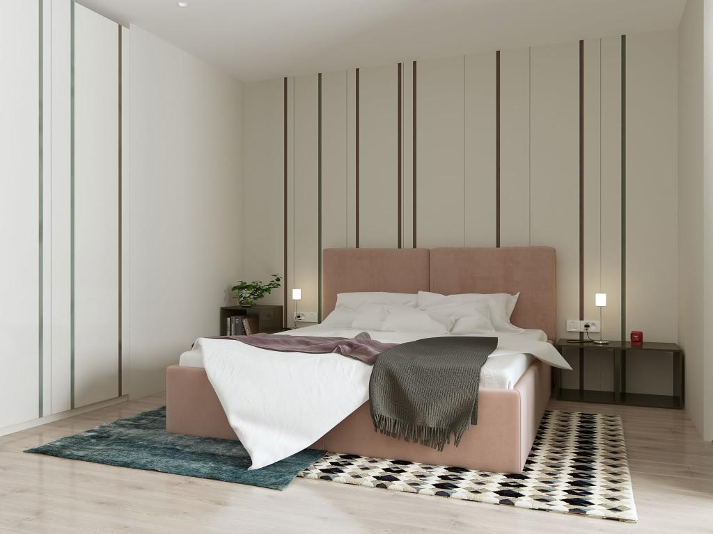 дизайн спальни, спальня в современном стиле, белая спальня, светлая спальня, минимализм, дизайн интерьера одесса