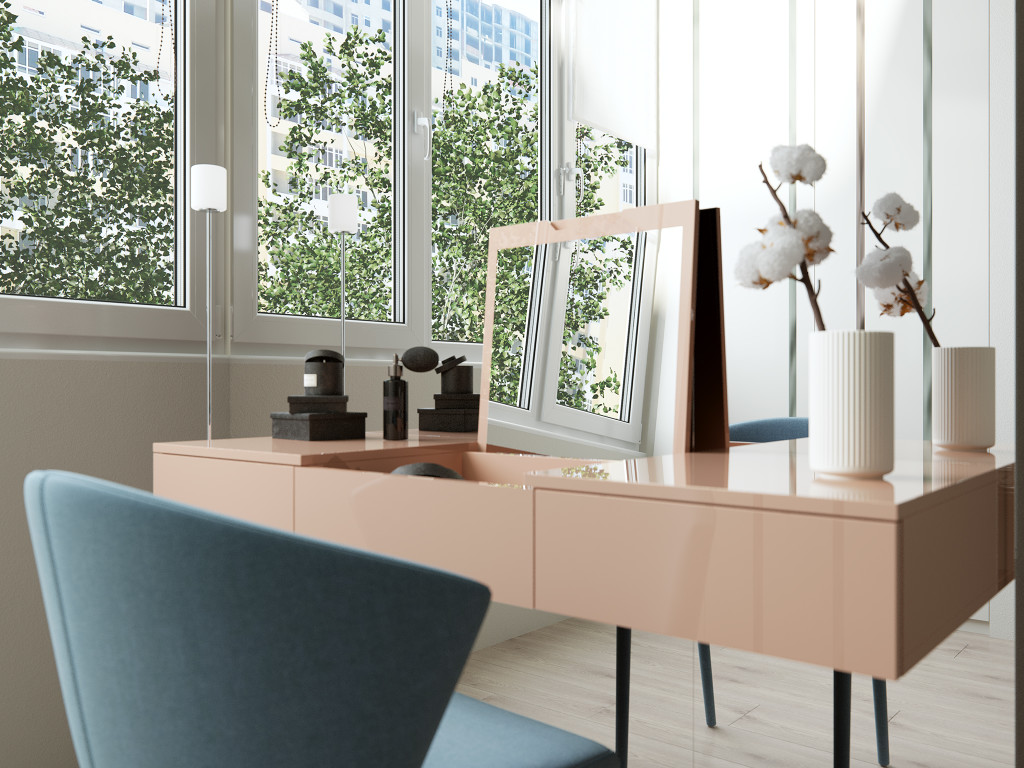 туалетный столик, дизайн интерьера одесса