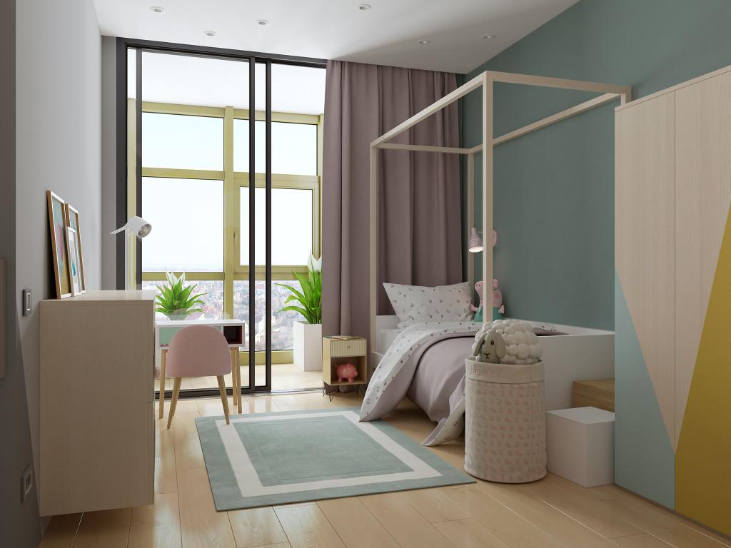 Спальня для маленькой девочки, дизайн детской, детская для девочки, детская, кадор
