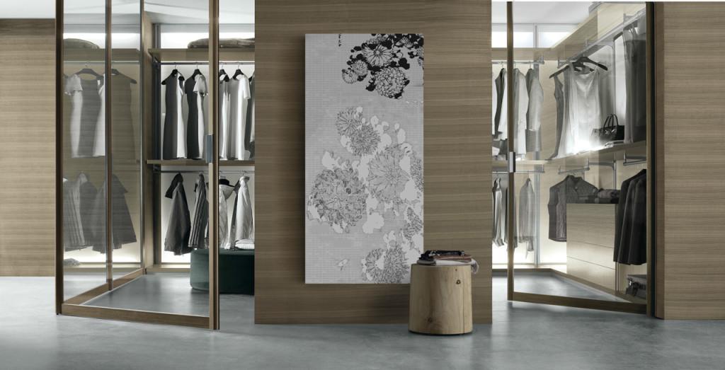 интерьер, минимализм, современный интерьер, гардеробная, rimadesio