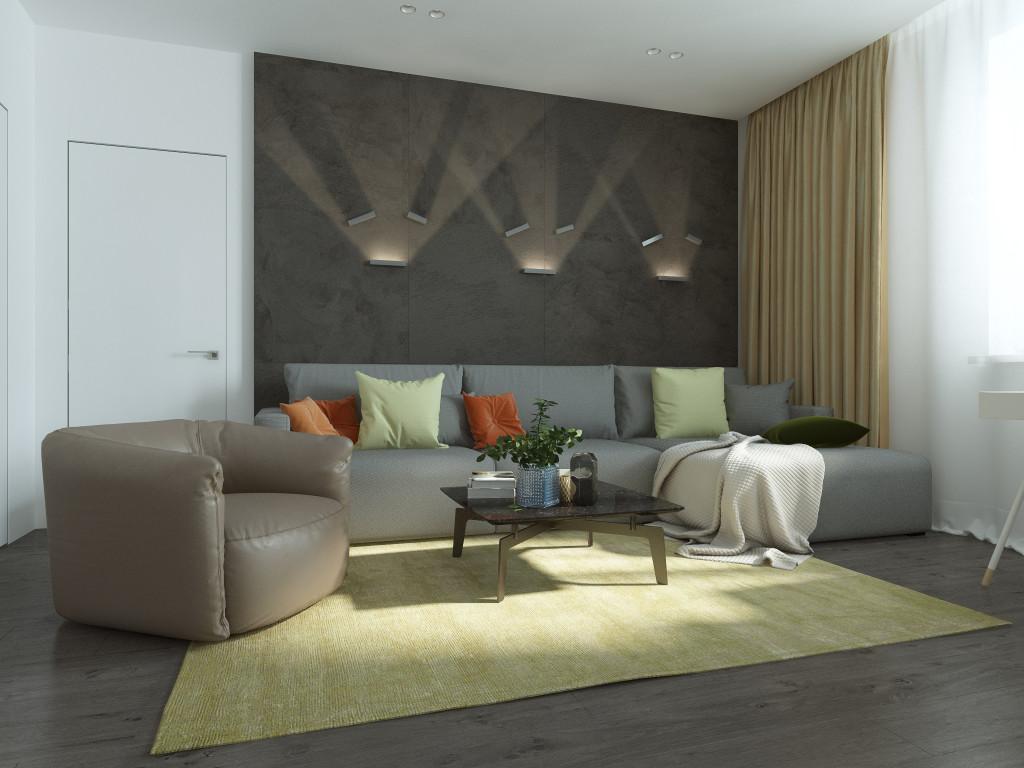 минимализм,гостиная минимализм, дизайн интерьера одесса, современный интерьер, эко минимализм