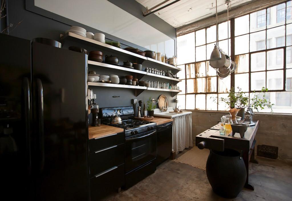кухня лофт, лофт, индустриальный стиль, loft design, loft style