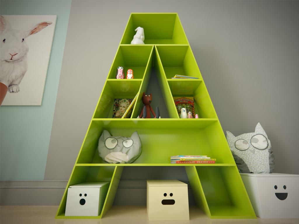 детская комната, комната для девочки, дизайн детской комнаты, дизайн интерьер одесса, стеллаж детская