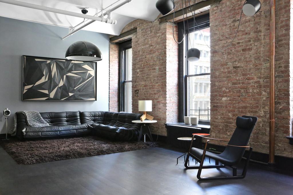 living room design, living room loft, loft, industrial design, лофт в украине, лофт одесса, стиль лофт, камин в интерьере