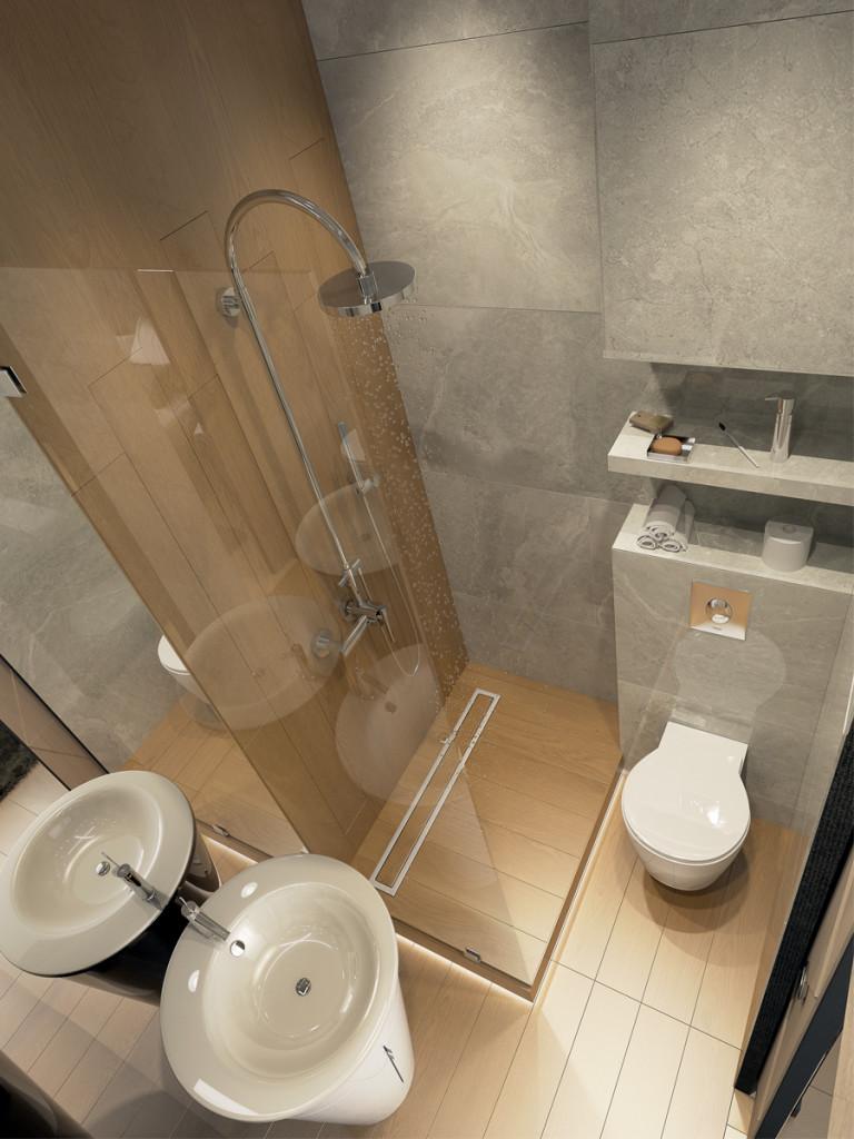 Дизайн ванны, дизайн санузла, минимализм, дизайн интерьера одесса, бетон