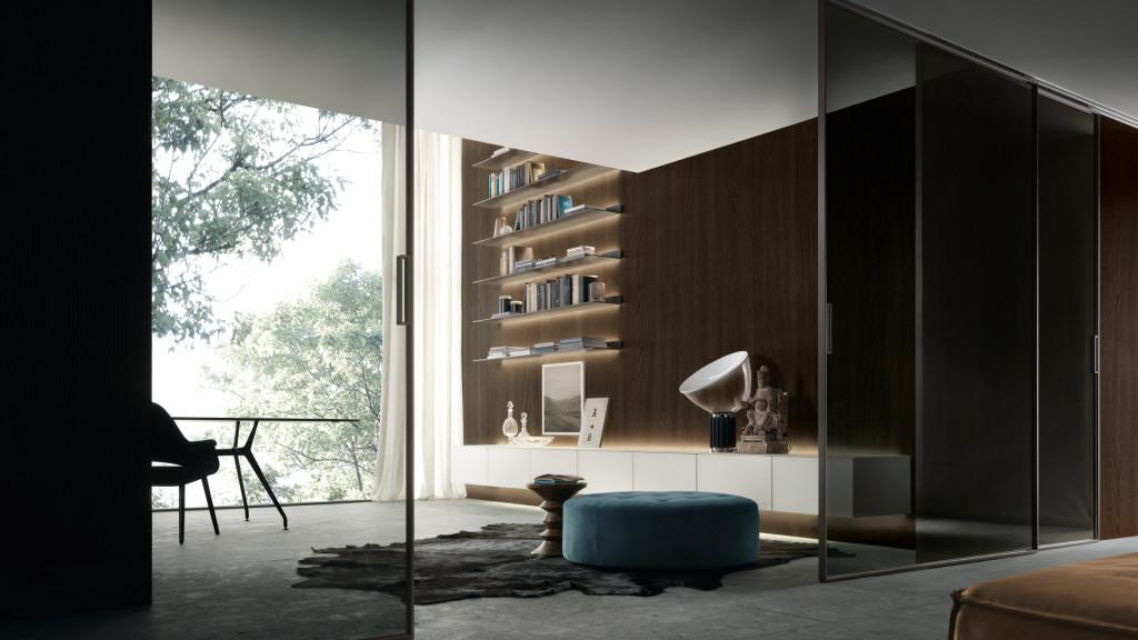 Varenna,интерьер, минимализм, современный интерьер, rimadesio, гостиная, дизайн гостиной