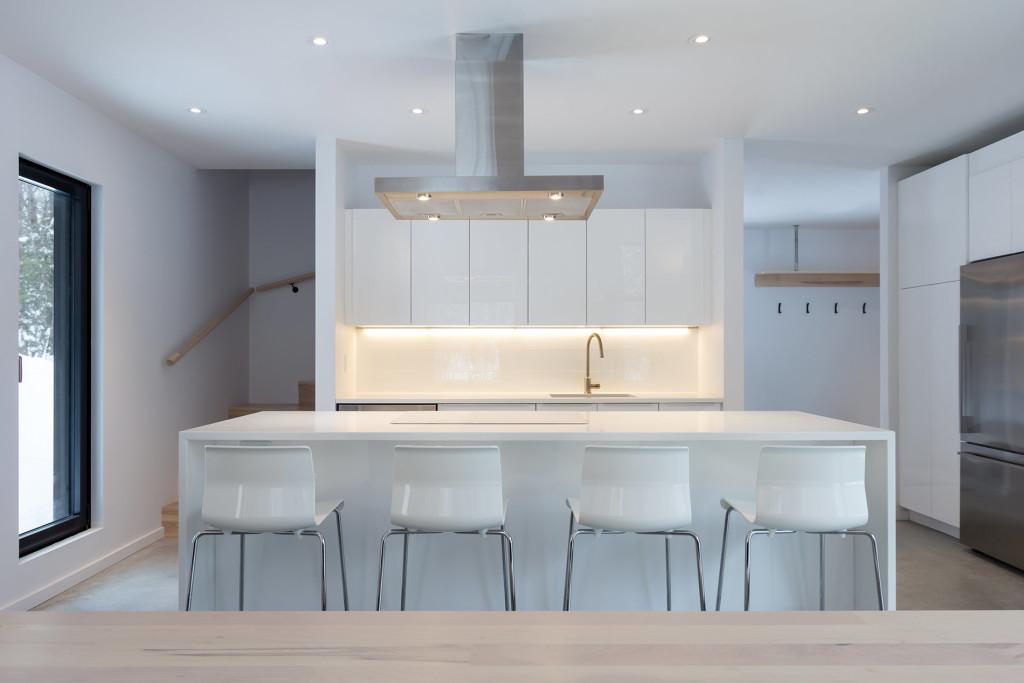 Scandinavian design, Scandinavian interior, скандинавский стиль, кухня в скандинавском стиле, белые стены в интерьере