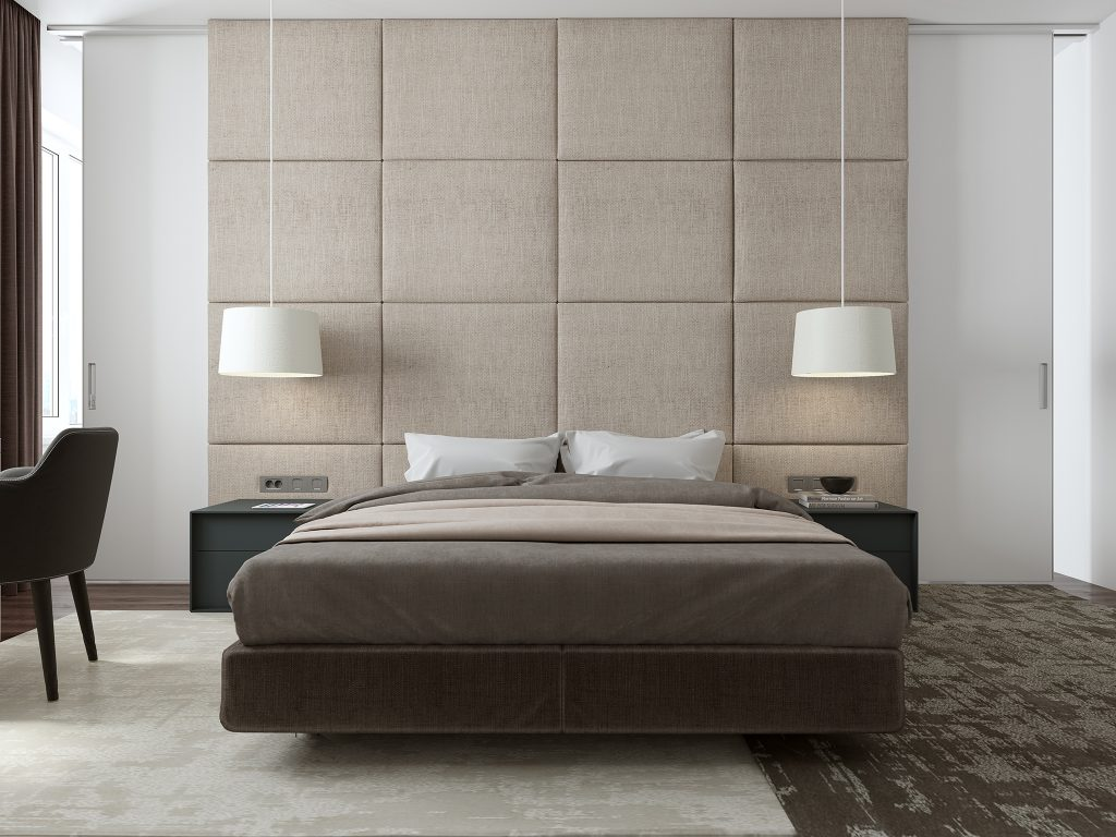 дизайн интерьера одесса, дизайн спальни, дизайн в современном стиле