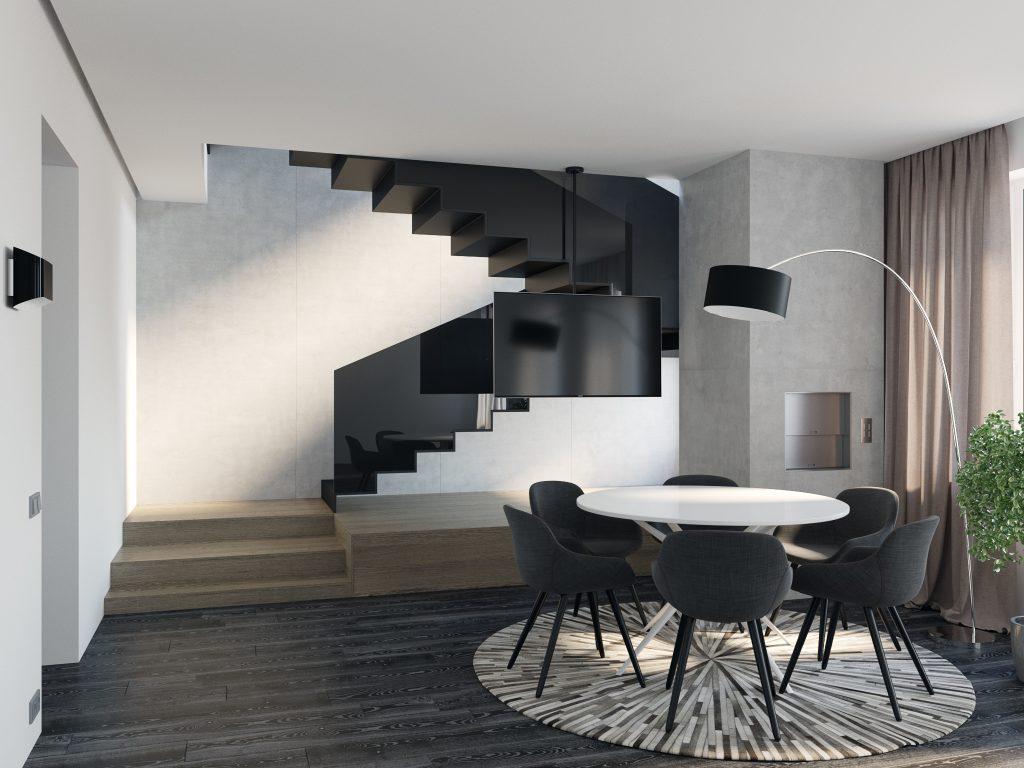 дизайн гостиной, дизайн интерьера, лестница в интерьере, дизайн интерьера Одесса