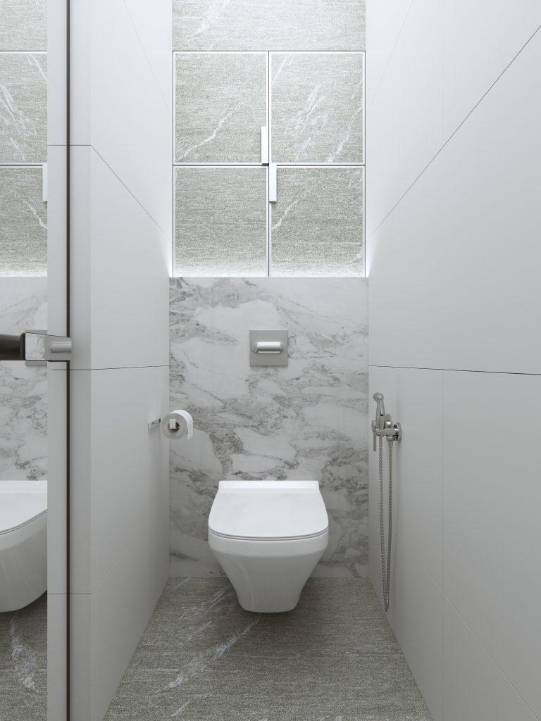 санузел минимализм, ванная минимализм, дизайн интерьера одесса, дизайн туалета