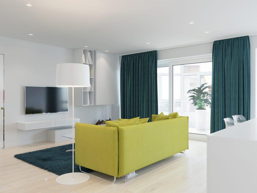 Минимализм, гостиная, дизайн Одесса, дизайн интерьера, оливковый, белый интерьер, дизайнер
